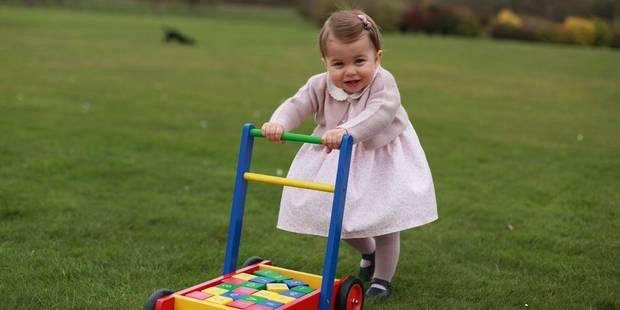 Les photos craquantes de la princesse Charlotte pour son premier anniversaire - La DH