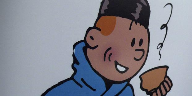 """""""Ma dernière toile montre Tintin qui enc*** Milou portant le brassard de Daech"""" - La DH"""