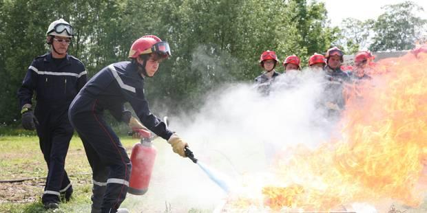 Enghien: les jeunes pompiers ont enflammé le public (VIDEOS) - La DH