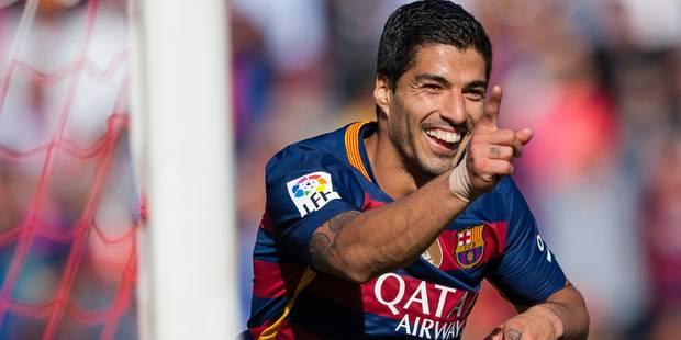 """""""Un moment unique"""", selon Luis Suarez - La DH"""