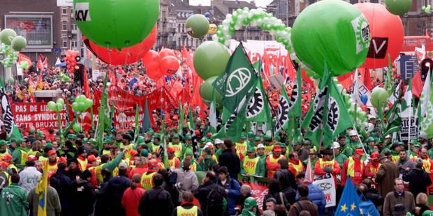 Manifestation fédérale du 24 mai: la police conseille d'éviter Bruxelles en voiture - La DH