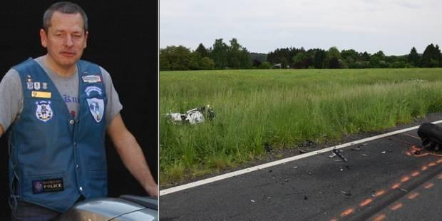 Terrible accident impliquant des motards de la police à Viroinval: Patrick Ducarme a été tué sur le coup - La DH