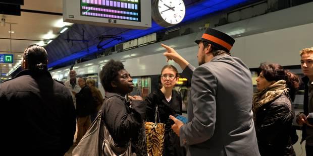 Grève à la SNCB: quasi pas de trains en Wallonie, plus de 80% du trafic assuré en Flandre - La DH