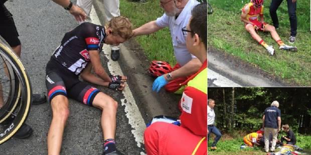 Très grave chute au Tour de Belgique: deux vertèbres cassées pour Pieter Jacobs (PHOTOS) - La DH
