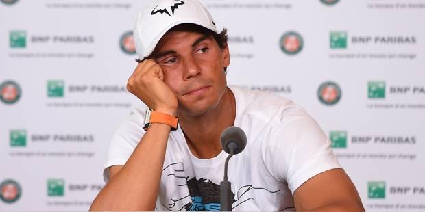 Faut-il s'inquiéter pour Rafael Nadal? - La DH