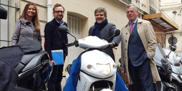Le MR séduit par le scooter électrique partagé - La DH