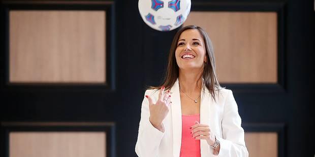 """Anne Ruwet: """"Le football, c'est mon seul côté masculin"""" - La DH"""