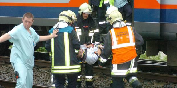 Accident ferroviaire à Saint-Georges-Sur-Meuse: un accident avait déjà eu lieu à cet endroit ! - La DH