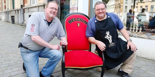Christian, heureux vainqueur du fauteuil des Diables - La DH