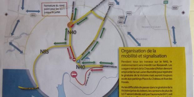 La traversée de Neufchâteau inaccessible cet été - La DH