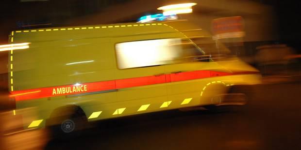 Accident sur la E40: Six blessés au sein d'un camion de l'armée belge - La DH