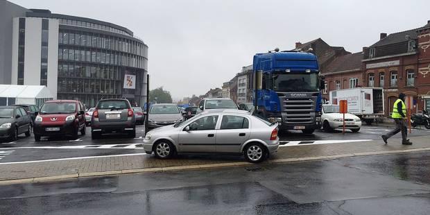 Mouscron: le parking s'améliore petit à petit - La DH