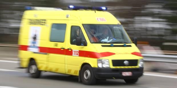 Double accident sur la route de Beaumont - La DH