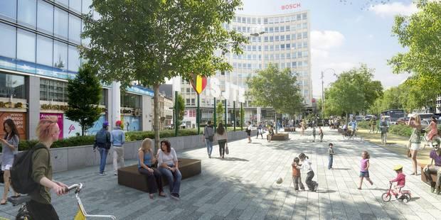 La place Madou deviendra une esplanade en 2018 - La DH