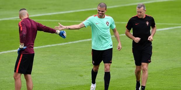 Pepe s'est entraîné, mais à l'écart - La DH