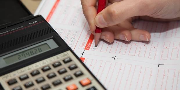 Près de 7 millions d'euros d'amendes perçus pour les déclarations fiscales non rentrées - La DH