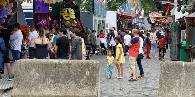 Sécurité renforcée à la Foire du Midi: des blocs pour éviter une attaque comme à Nice (PHOTOS + VIDEOS) - La DH