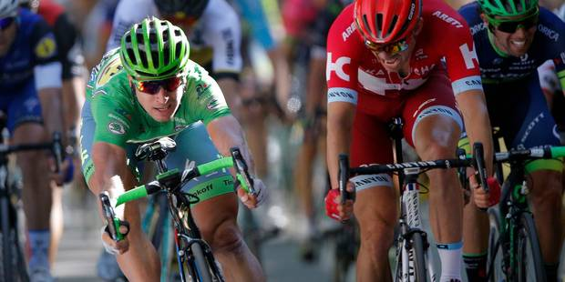 Tour de France: Sagan signe, sur le fil, son troisième succès (VIDEO) - La DH
