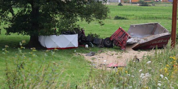 Philipeville: tué dans son camion à Vodecée - La DH