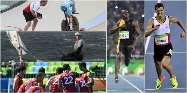 Le programme des Belges ce mardi: 3 chances de médaille, Bolt et Borlée côte à côte ! - La DH