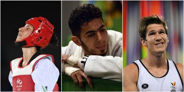 Les Belges à Rio: Pas de médaille pour Raheleh Asemani et Jaouad Achab - La DH
