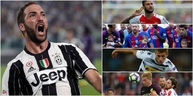 Le Barça et la Roma qui explosent le marquoir, Higuain qui réussit son entrée...: un samedi sur les pelouses européennes...