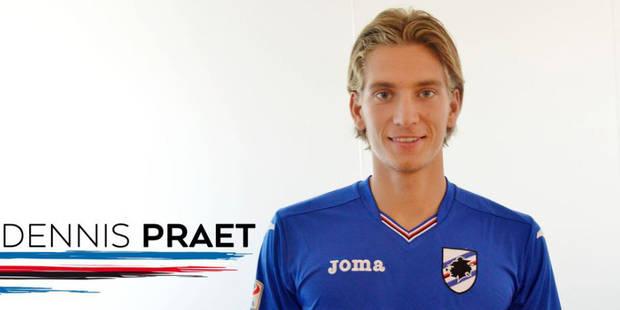 Journal du mercato (24/08): Dennis Praet présenté par la Sampdoria - La DH