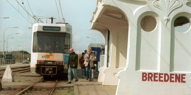 Côte belge: un cycliste écrasé par un tram à Bredene - La DH
