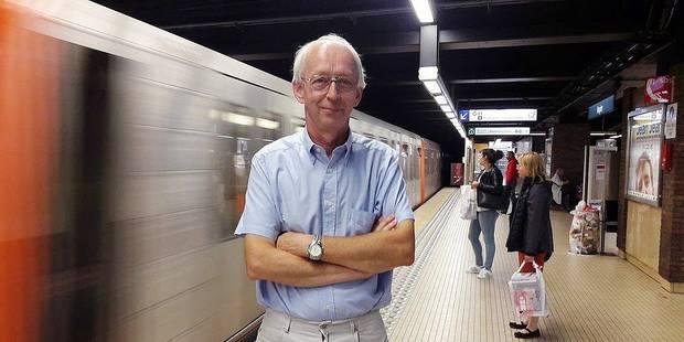 Christian a conduit les premiers métros bruxellois - La DH