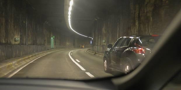 Le tunnel Léopold II fermé pendant 25 min, des retards sont à prévoir dans les environs - La DH