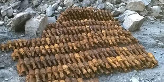 Près de 600 obus découverts à Michamps - La DH