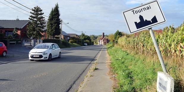 Tournai: les panneaux d'agglomération ciblés par des voleurs - La DH