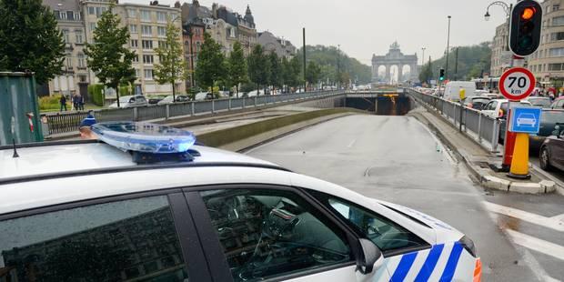 Bruxelles: le tunnel Loi complètement rouvert à la circulation - La DH