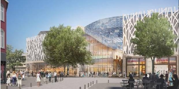 Centre commercial de Namur: la réunion d'information annulée suite au redressement judiciaire - La DH