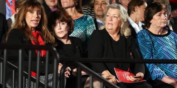 Débat Clinton-Trump: qui sont les quatre accusatrices qui étaient présentes ? - La DH