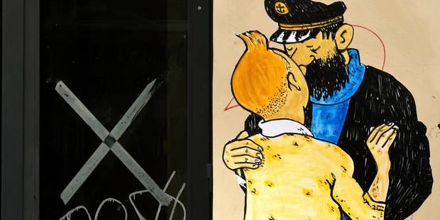 """Les planches de """"La vie sexuelle de Tintin"""" vendues pour plus de 22.000 euros (PHOTOS) - La DH"""