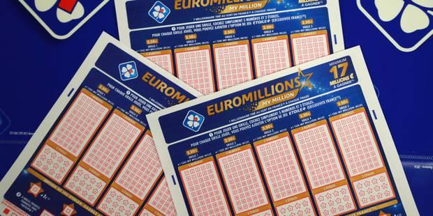 EuroMillions: la cagnotte de 168 millions est remportée par un Belge - La DH