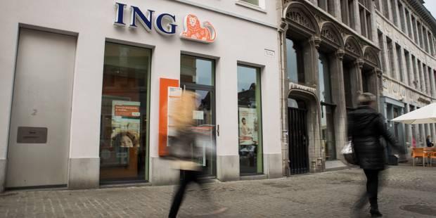 Découvrez la liste des agences statutaires que ING a décidé de garder en Belgique - La DH