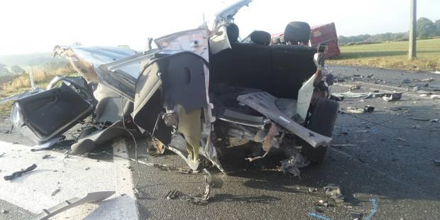 Une mère et son bébé perdent la vie après une collision avec un camion à Solre-Saint-Géry - La DH