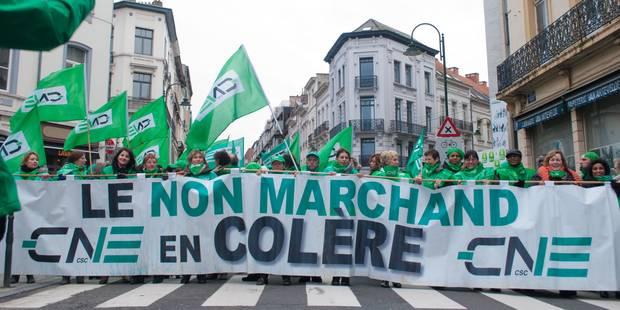 Le non-marchand dépose un préavis de grève pour le 24 novembre - La DH