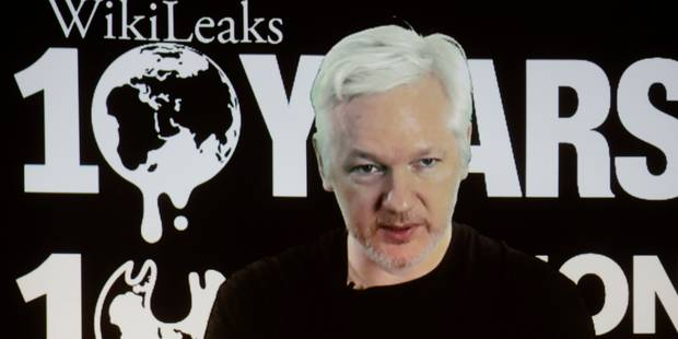 """La connexion internet de Julian Assange coupée, WikiLeaks met en cause un """"Etat"""" - La DH"""