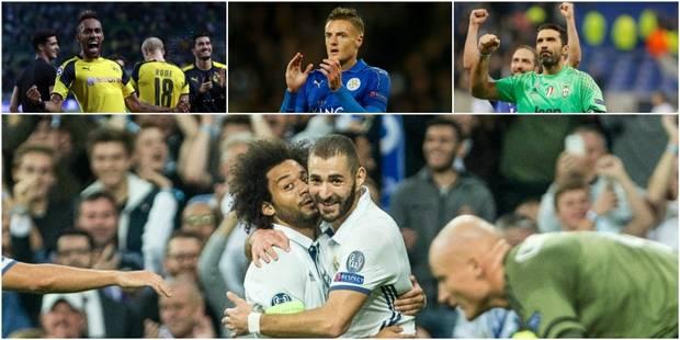 C1 : Le Real facile, Dortmund et la Juventus confirment, découvrez tous les résultats de la soirée - La DH