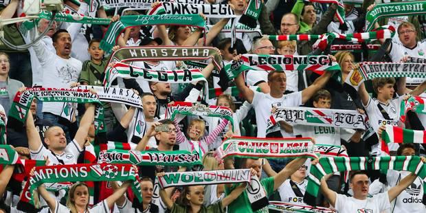 Sept blessés légers dans des heurts avec la police avant Real Madrid-Legia Varsovie - La DH