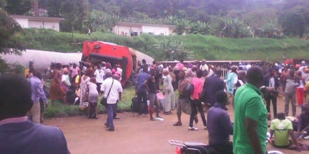 Accident de train au Cameroun: plus de 60 morts, des centaines de blessés - La DH