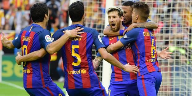Liga: Messi sauve le Barça dans un choc électrique - La DH