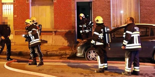 Une famille relogée suite à un incendie à Fleurus - La DH