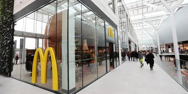Docks Bruxsel : un McDo sans toilettes ? Légal! - La DH