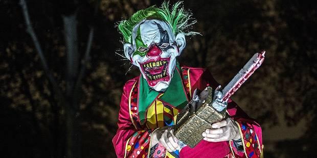Clowns maléfiques : la police est attentive au phénomène - La DH