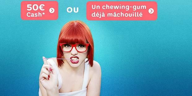 Hello bank ! offre un chewing-gum déjà? mâchouillé - La DH