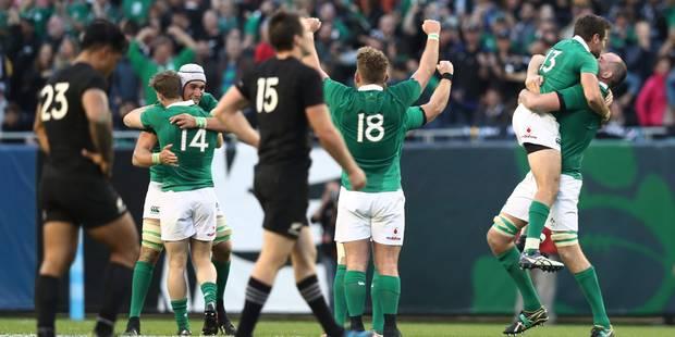 L'Irlande met fin à la belle série des All Blacks - La DH